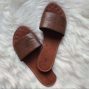 Abound Nordstrom Leather Sandal Slides